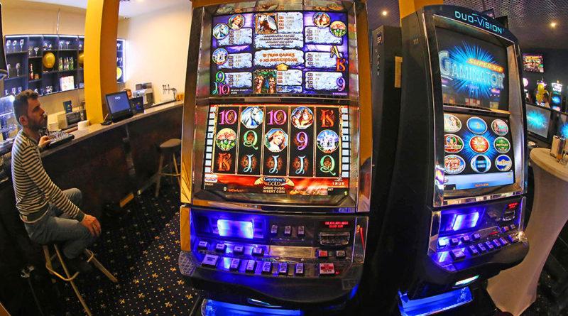 Spielautomaten ziehen Glücksritter an