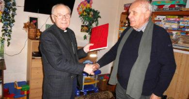 Pfarrer Gauronskas und Theodor Große-Starmann