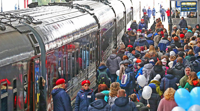 Eisenbahn nach wie vor beliebt
