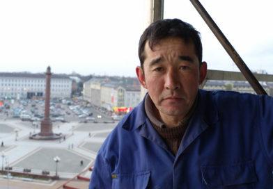Gros der Übersiedler aus Kasachstan