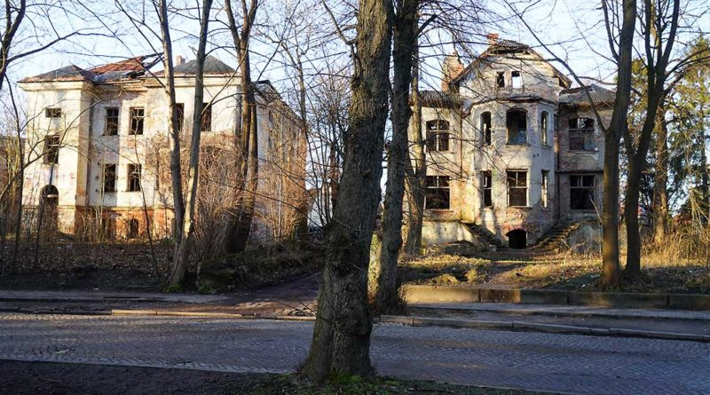 Trauriges Schicksal zweier Königsberger Villen