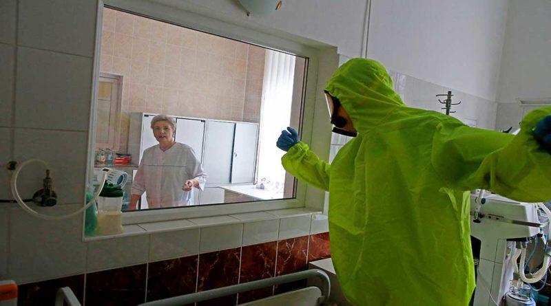 Chronik der Coronavirus-Pandemie in Kaliningrad