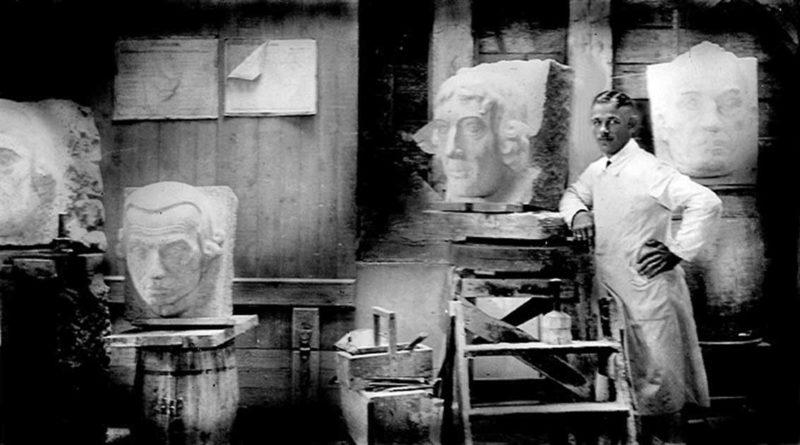 William Ernst Ehrich – Erschaffer der steinernen Gelehrten