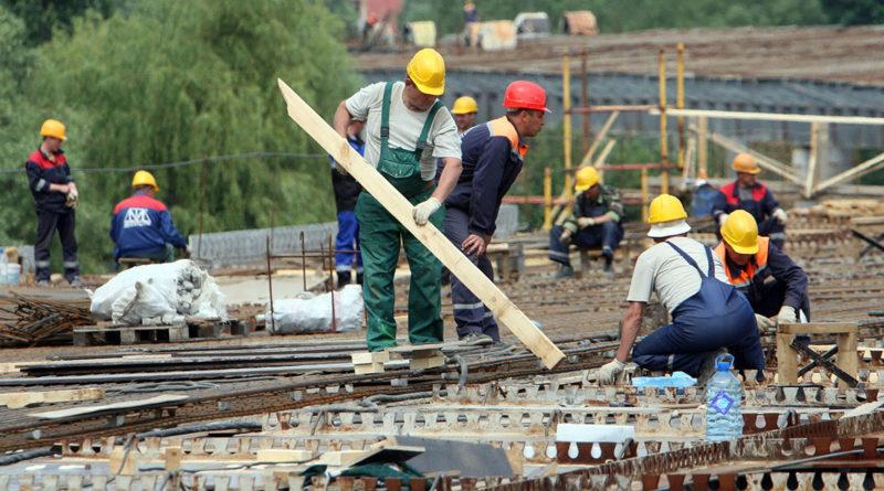 Weniger ausländische Arbeitnehmer im Gebiet