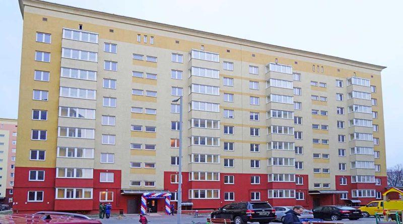 Neue Wohnungen für Angehörige der Baltischen Flotte