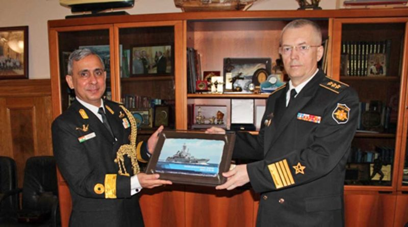 Indiens Flottenattaché besucht Kaliningrad