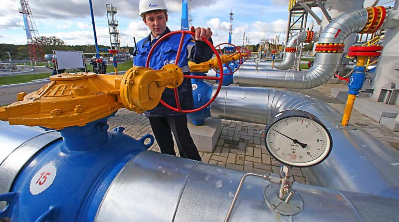 Erdgaszufuhr unterbrochen