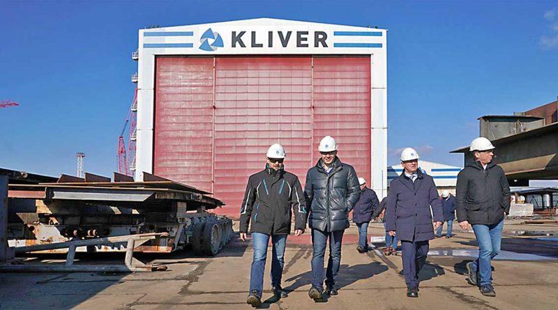 Werft produziert für die Arktis