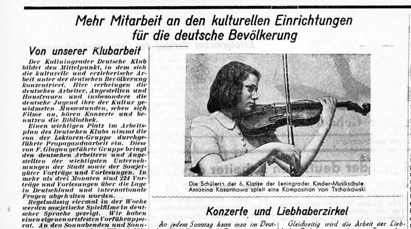 Der Deutsche Klub – zwischen Agitation und Tanz