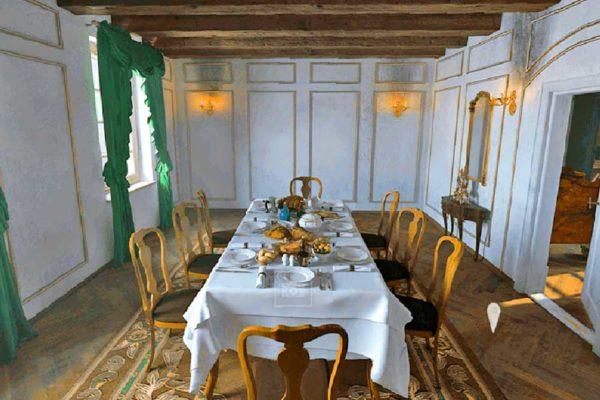 Kants Wohnhaus als virtuelles Modell