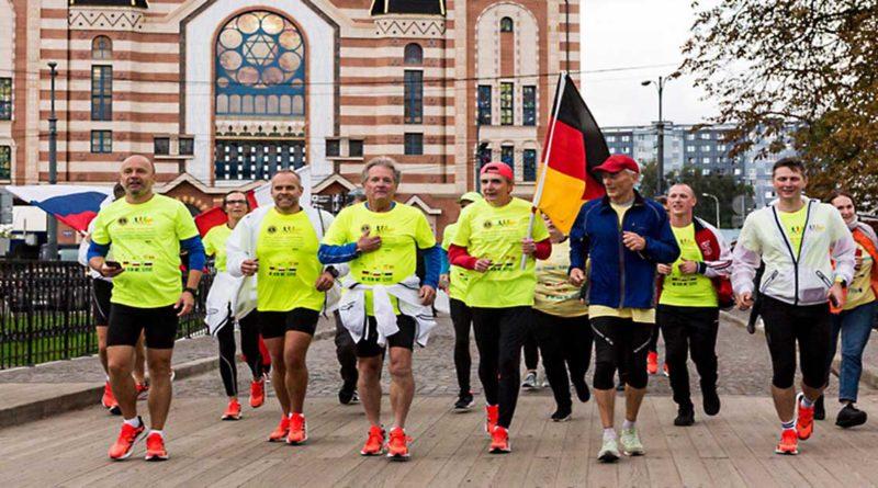 Von Berlin nach Kaliningrad: Laufen für einen guten Zweck