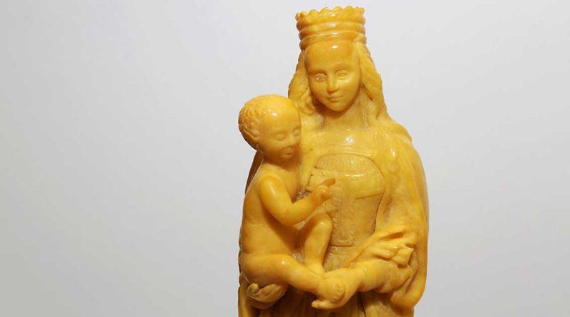 Königsberger Madonna im Bernsteinmuseum